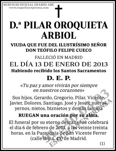Pilar Oroguieta Arbiol